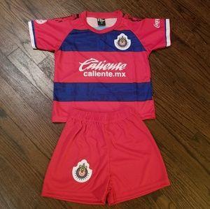 Chivas de Guadalajara Kid's soccer Uniform